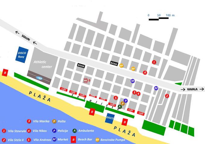 asprovalta mapa Asprovalta 2018 Asprovalta leto 2018 Asprovalta letovanje 2018 asprovalta mapa