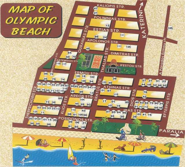 olimpik bic mapa Olympic Beach 2018 Olympic Beach leto 2018 Olimpik beach letovanje  olimpik bic mapa